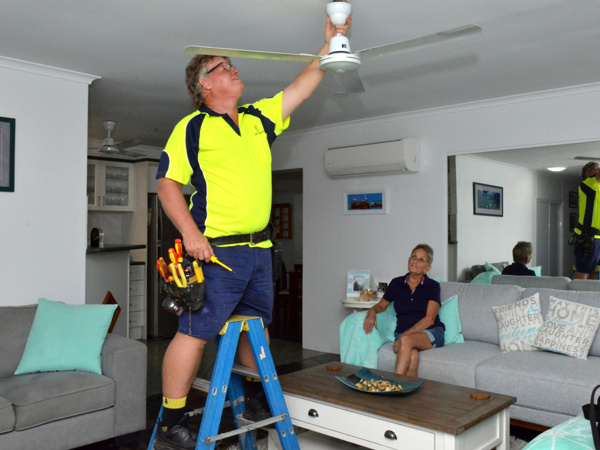 Security Light And Installation Cairns